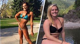 六塊肌變一團肉 她3個月胖11公斤反成網紅 臉書