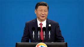 中國大陸國家主席習近平會見俄羅斯總統普丁(圖/路透社/達志影像)