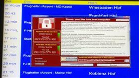 Wcry,勒索軟體,電腦,中毒,病毒,WannaCry (圖/翻攝自推特)