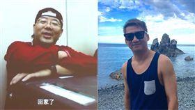 齊柏林,崔企川/翻攝自齊柏林的飛閱台灣 崔企川臉書
