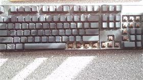 鍵盤,電腦,打手槍,汙垢/翻攝網路 (http://imgur.com/r/MechanicalKeyboards/RGCpV)