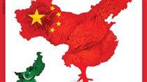 今日印度,雜誌,中國大陸,地圖,版圖,行政區域,陸慷,伎倆 (圖/翻攝自推特)