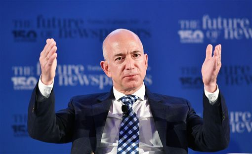 Jeff Bezos,貝佐斯,亞馬遜圖/美聯社/達志影像