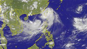 颱風,雙颱,尼莎,海棠(圖/氣象局)