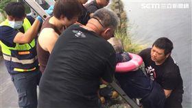 颱風天彰化無風無雨 7旬老翁竟摔進排水溝