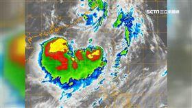 天氣,氣象,尼莎,海棠,颱風,路徑,大雨