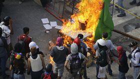 委內瑞拉暴力衝突_路透社/達志影像