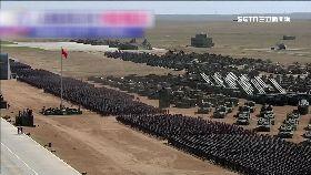 陸閱兵威嚇2130