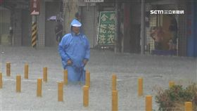 海棠颱風,台南淹水