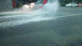 台南諸事會社 淹水