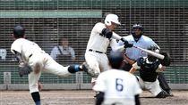 追平日本高中紀錄的全壘打(圖/翻攝自推特)