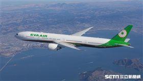長榮航空,客機,機艙。(圖/長榮提供)