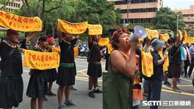 蔡英文道歉週年原住民抗議,巴奈,那布,傳統領域 圖/記者張之謙攝