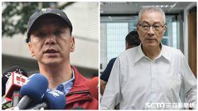 國民黨,主席,吳敦義,朱立倫,新北市長  圖/記者林敬旻攝、新北市政府提供