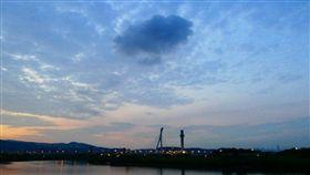 北投焚化爐,空污,空氣污染,廢氣(圖/翻攝自李富城臉書)