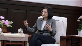 總統蔡英文接見無國界記者組織。(圖/總統府提供)