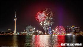 澳門國際煙花比賽匯演,煙火,澳門旅遊。(圖/澳門旅遊局提供)