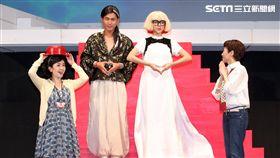 蕭艾、蔡燦得、夏于喬演出舞台劇「室友ROOMMATE」即將登場。(記者邱榮吉/攝影)