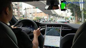 Tesla 0Taxi 葉立斌攝 計程車