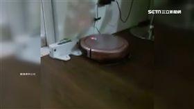 掃地機器人「迷途」 撞牆卡卡回不去了 SOT