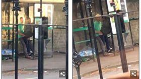 英國,活春宮,公車站,做愛 圖/翻攝自Daily Mail