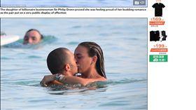 加州,男模,米克斯,Jeremy Meeks,千金,克蘿伊葛林 http://www.dailymail.co.uk/news/article-4761936/Chloe-Green-arrives-Barbados-Jeremy-Meeks.html
