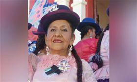 玻利維亞婦人皮拉爾(Carmen del Pilar Chacón)被丟到殯儀館等死。(圖/翻攝自《la-razon》)