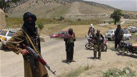 恐怖組織,塔利班,Taliban(圖/翻攝自推特)