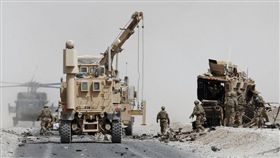 阿富汗,軍人(圖/翻攝自推特)