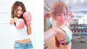 網紅丁小雨(左)、T妹(右)。(圖/翻攝自臉書)