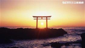 茨城,日本,北關東,旅遊,大洗磯前神社。(圖/記者馮珮汶攝)