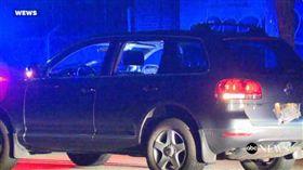 非裔男向4歲男童開槍只因他媽媽按喇叭超車 翻攝ABC電視台