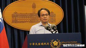 總統府司法改革國是會議籌委會副執行秘書林峯正議。(記者盧素梅攝)