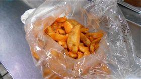 摩斯查獲綠薯條/台南市衛生局提供