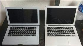 筆記型電腦,樂高,積木,複製,MacBook,神人 (圖/翻攝自推特)
