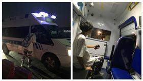 ▲網友叫車竟叫來救護車。(圖/翻攝自XimiKKb微博) http://www.weibo.com/5901441205/FfZZPsSwM?filter=hot&root_comment_id=0&type=comment#_rnd1502242229449