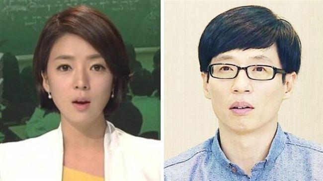 南韓美女主播素顏 竟撞臉蚱蜢劉在石