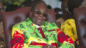東非國家辛巴威93歲總統穆加比。(圖/美聯社/達志影像)
