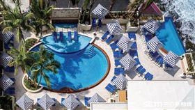 飯店,泳池,波多黎各,康達多范德比爾特飯店。(圖/hotels.com提供)