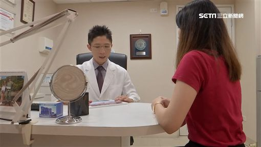看醫生、問診/示意圖