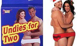 惡作劇,內褲,情侶,禮物,惡搞,男朋友,女朋友 圖/翻攝自Amazon