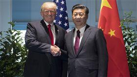 川普,習近平,北韓,美國,中國大陸 圖/美聯社/達志影像