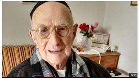 Yisrael Kristal,納粹,猶太,金氏世界紀錄,長壽 圖/翻攝自BBC NEWS
