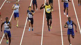 ▲Usain Bolt在400公尺接力受傷。(圖/美聯社/達志影像)
