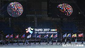 世大運組開幕全系統測試。(資料照/記者林敬旻攝)