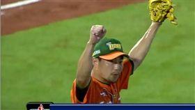 ▲統一獅投手林岳平是台灣職棒救援王。(圖/截自網路)