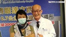 北醫醫師劉偉民、鷹眼達文西(楊晴雯攝)