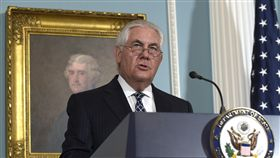 美國國務卿提勒森Rex Tillerson。(圖/美聯社/達志影像)