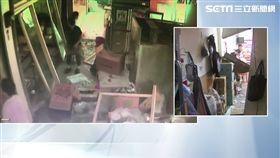 瓦斯工疑操作不慎!中市小吃店氣爆 玻璃震碎釀3傷