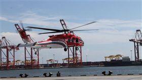 UH-60M黑鷹直升機(編號NA-704) 圖/內政部提供